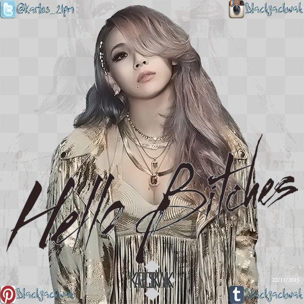 #2NE1 #CL HELLO BITCHES!!