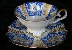 Alka koningsblauw - Duits / Royal blue from Alka - Germany