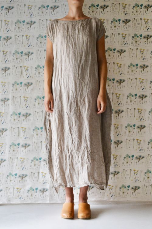 French Country Clothing Part - 29: Daniela Gregis - Washed Luciana Dress. Sewing NotionsLinen DressesVintage WearFrench  CountryFrocksJoggersFashion ...