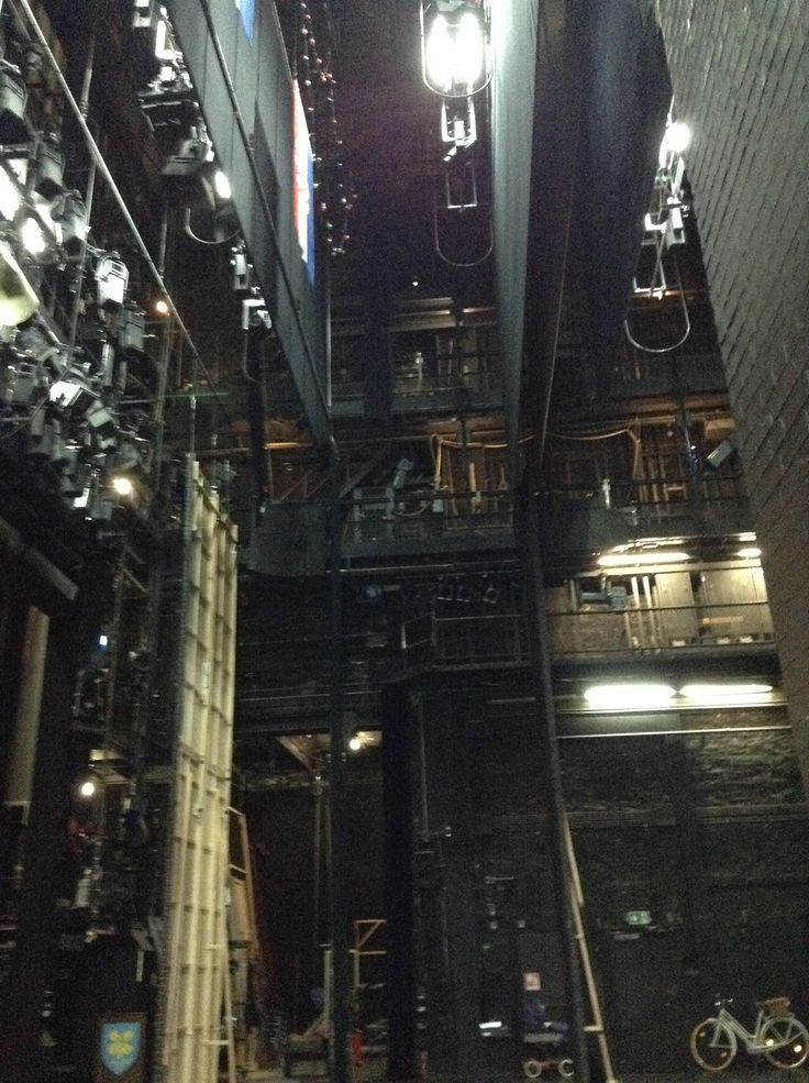 Back stage at a theatre in Germany