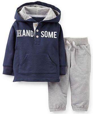 Carter's Baby Boys' 2-Piece Pullover & Pants Set