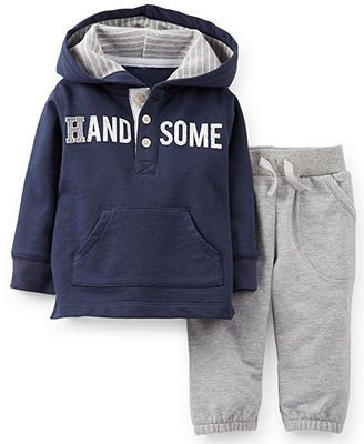 Carter's Baby Boys' 2-Piece Pullover & Pants Set
