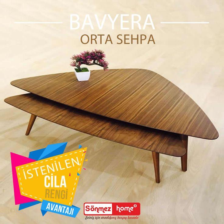 Bavyera Modern Orta Sehpa gün içinde değişen tercihleriniz için tam da aradığınız ürün! #Modern #Furniture #Mobilya #Bavyera #Orta #Sehpa #Sönmez #Home