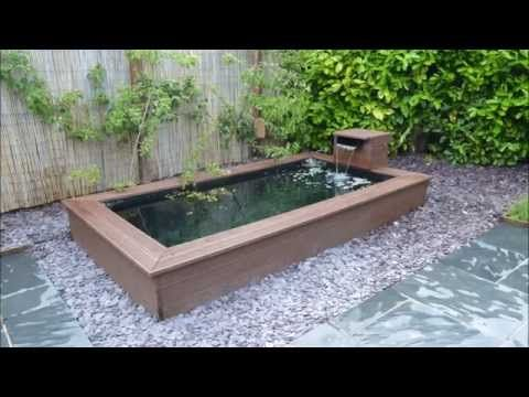 Best 25 above ground pond ideas on pinterest pond for Making a koi pond