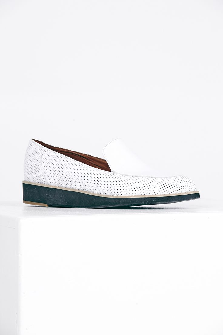"2-tone Arco Loafer.  Kuwaii SS 14/15 ""Rationale"" Collection. Image by Daniel Gurten."