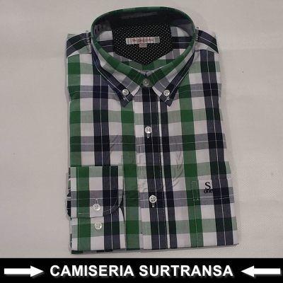 Camisa Cuadros Surtransa 581