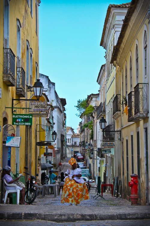 Pelourinho, Salvador - Bahia - Brasil (founded in 1549 by Portuguese settlers)
