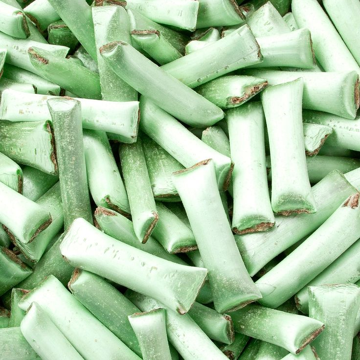 Chocolate Straws - Green • Chocolate Candy Delights • Bulk Chocolate • Oh! Nuts®