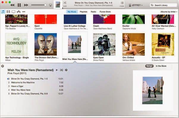 iTunes 12 ve Yeni tasarımı #apple #iphone #itunes