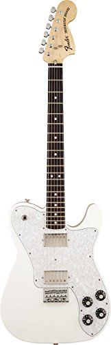 Fender Chris Shiflett Telecaster Deluxe, Rosewood Fingerboard, Arctic White *** You can find more details by visiting the image link.