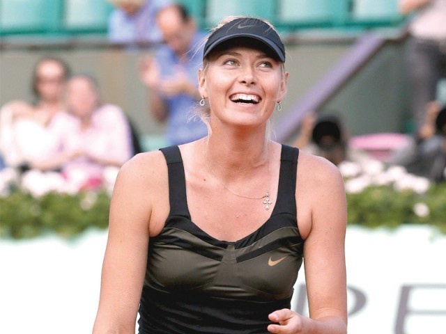 Shazza smiles as she moves to French Open Finals: Sharapova Final, French Open, Open 2012, Shazza Smiles, Open Finals