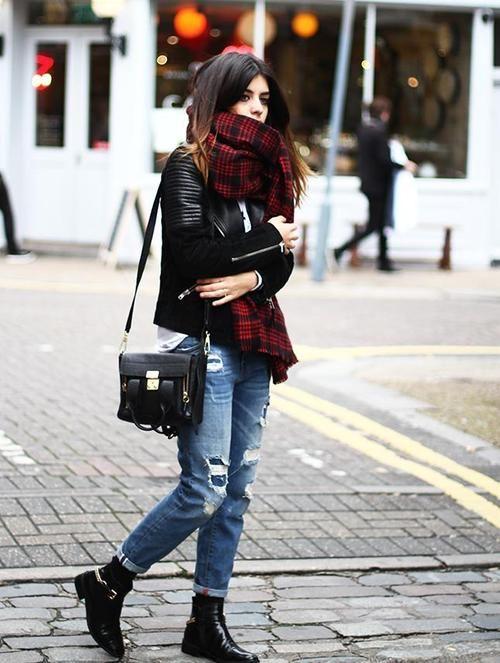 Jacket: Mango / Shirt: Youtakeme / Jeans and Scarf: Zara /... - what do i wear?