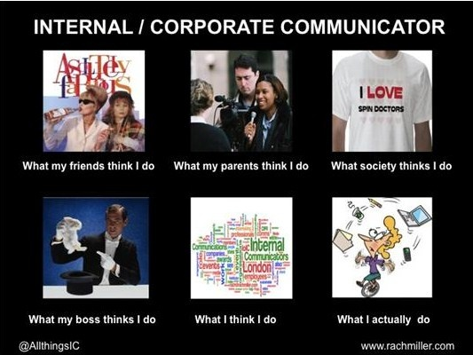 Uitleg van wat een communicatieadviseur doet.