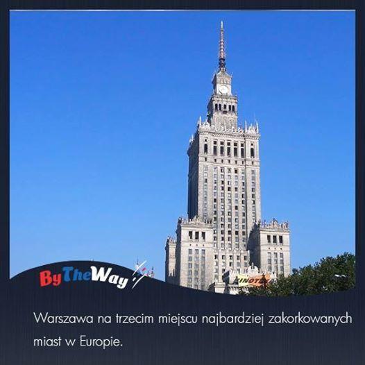 Jak wynika z najnowszego raportu TomTom Traffic Index, średni poziom zatłoczenia aglomeracji warszawskiej w drugim kwartale 2013 roku wynosi 44 procent. Oznacza to, że podróż trwała o 44 procent, dłużej niż gdyby ruch trwał swobodnie. Taki wynik plasuje Warszawę na 3 pozycji (po Moskwie i Stambule), pośród 59 największych europejskich miast.