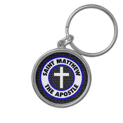 Saint Matthew the Apostle Keychain - diy cyo personalize design idea new special custom