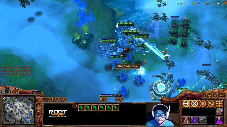 Catz SiCK Queen flank from the skies ! #games #Starcraft #Starcraft2 #SC2 #gamingnews #blizzard