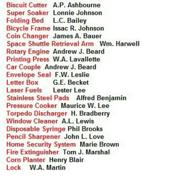 Black Inventors 103