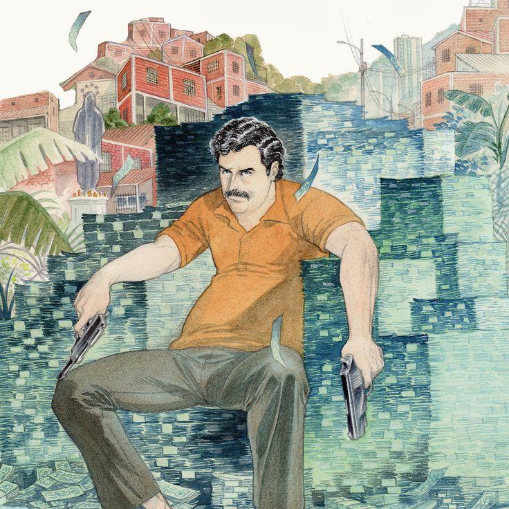 """Ne manquez pas """"Escobar"""", un excellent album par Piccoli et Palumbo, et édité par Dargaud ! Découvrez comment Pablo Escobar, pour devancer une extradition vers les États-Unis, se livre à la justice colombienne :"""