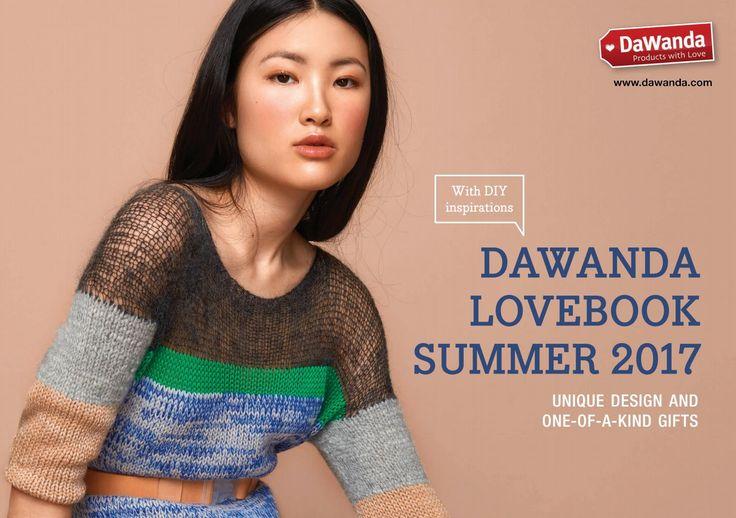 Lovebook Summer 2017 My Shark featured in latest DaWanda Lovebook.