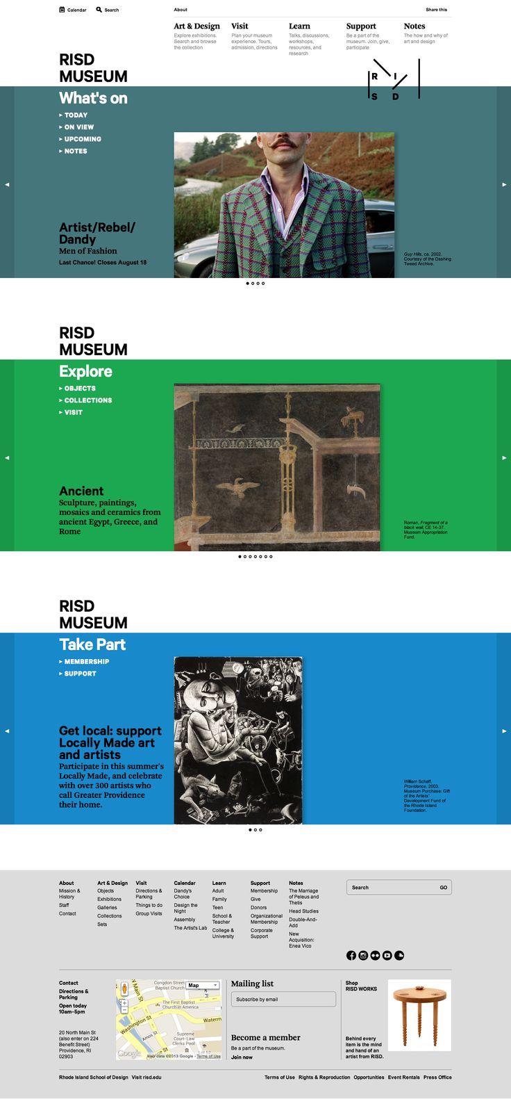 RISD Museum Website