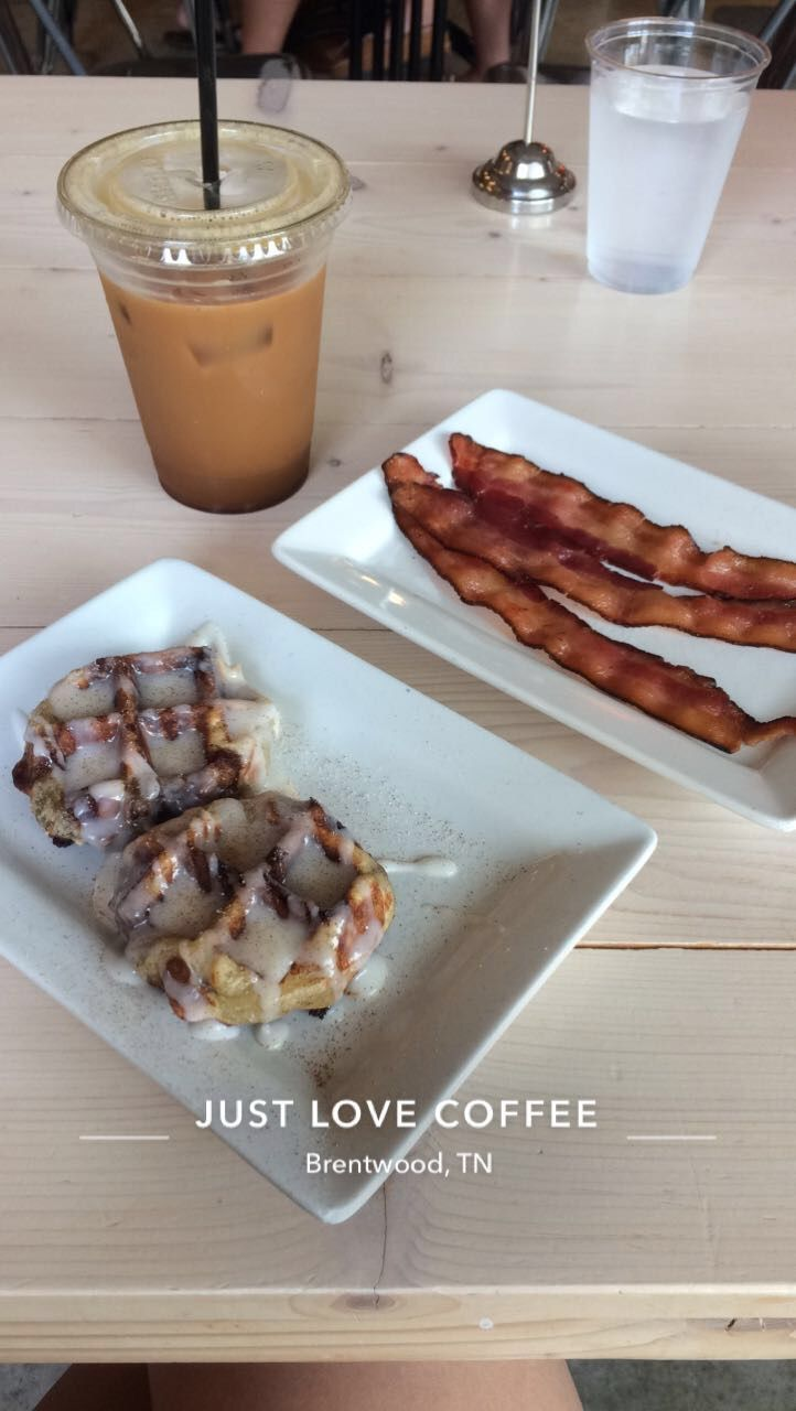 Just Love Coffee in Nashville, TN | Sarah Alexandra Blog http://blog.sarahalexandra.net | #nashville #musiccity #nash #tn #tennessee #coffee #coffeeshop #southern #waffles #breakfast #southernfood #travel