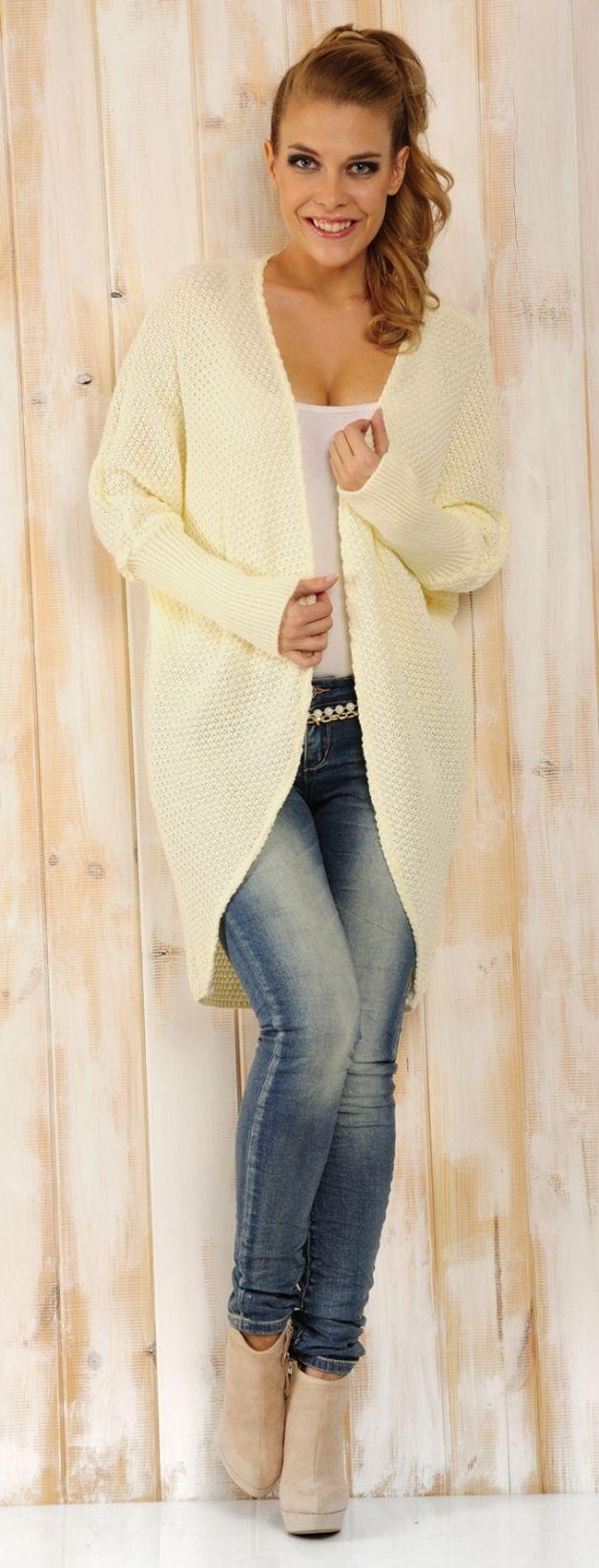 Mimi45 Pinacolada UNIWERSALNY - Sweter kolor ekri - Lemoniade - Blezery