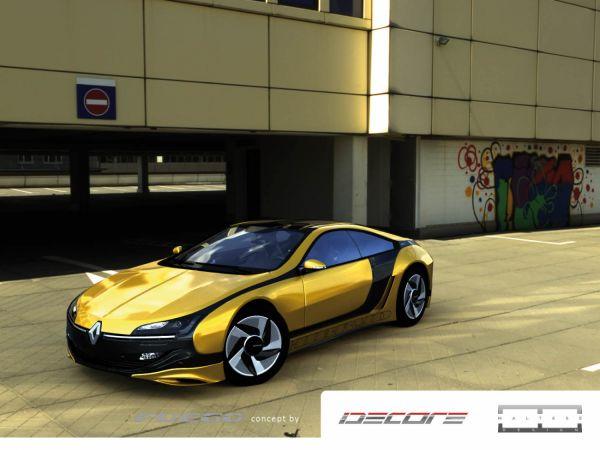 Renault Fuego concept : la vision dIdecore