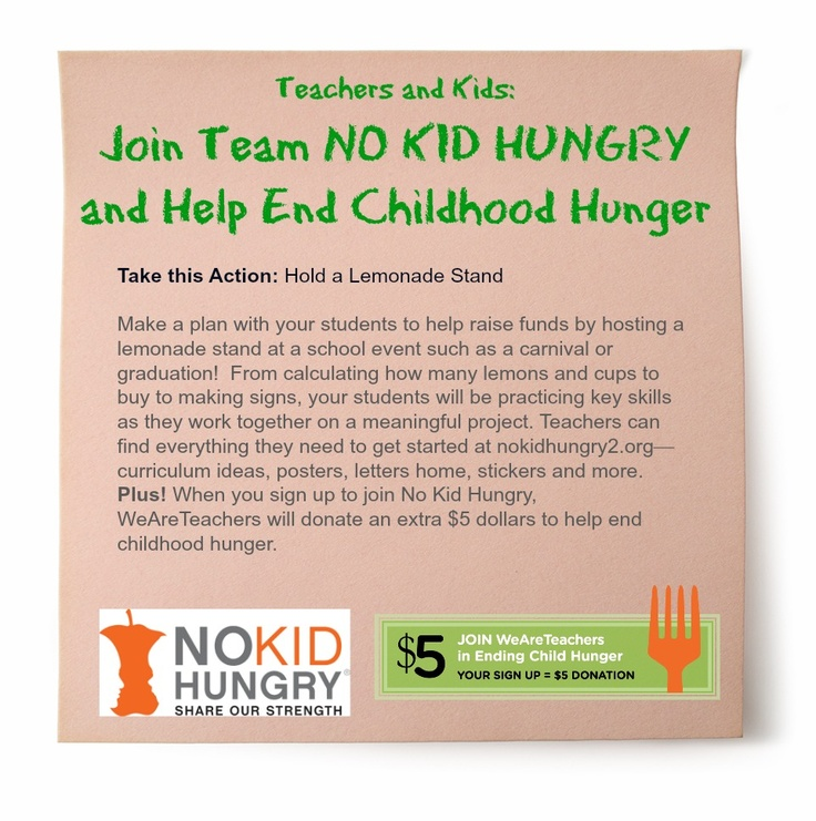"""no kid hungry essay contest The middle school received the highest allocation among the six schools from no kid hungry at $5,120 """"more than 300,000 children in virginia live in families that struggle with hunger,"""" a news release from no kid hungry cited."""