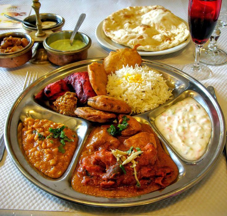 thali le repas indien traditionnel au restaurant namasty india le havre thali india indian. Black Bedroom Furniture Sets. Home Design Ideas