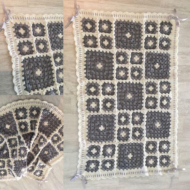 Granny square crochet Hugo
