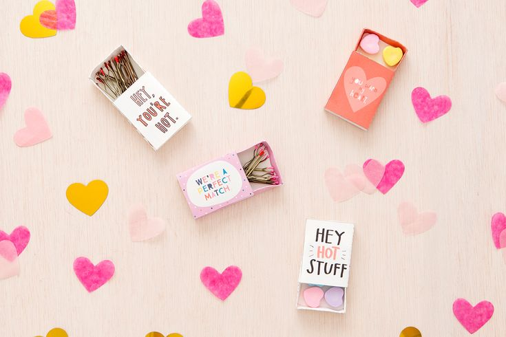 DIY matchbox gifts #valentines #love #alavishaffair