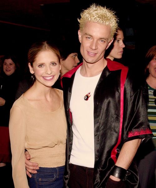 James Marsters and Sarah Michelle Gellar aka Spike and Buffy