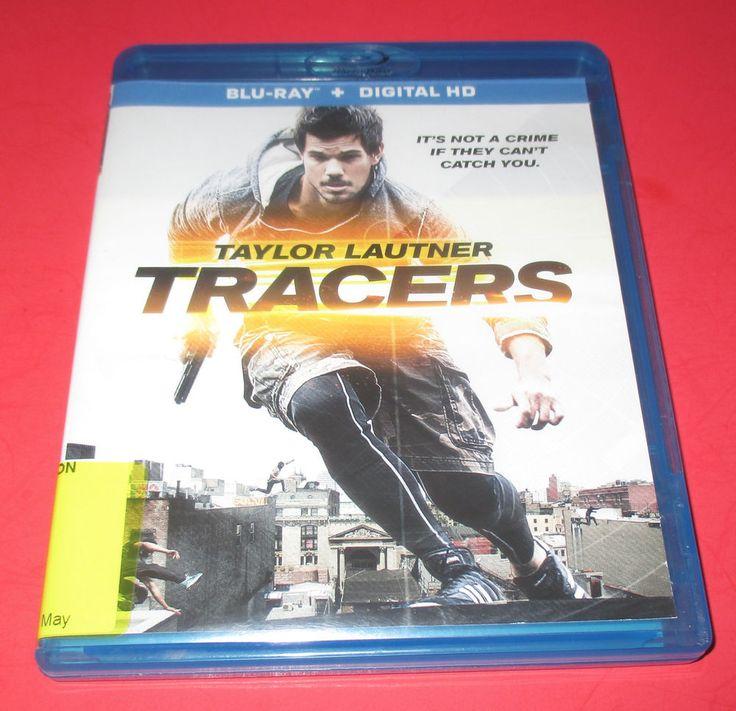 Tracers - Blu-ray, 2015- Used- TAYLOR LAUTNER,  FREE SHIP! #Tracers #taylorlautner #action #thirller #movies http://www.ebay.com/usr/vinylrockretro