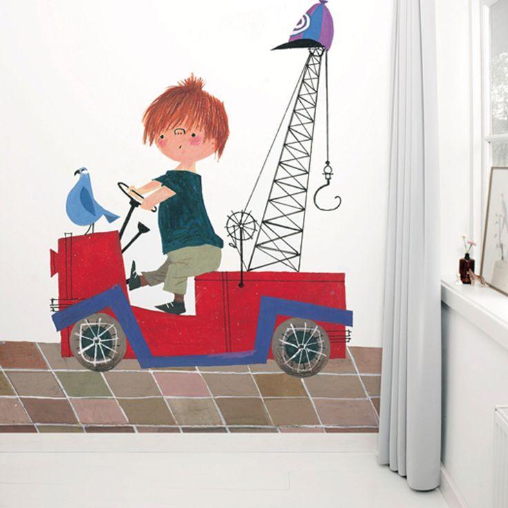Wallpaper Stories   Rode vrachtwagen 1