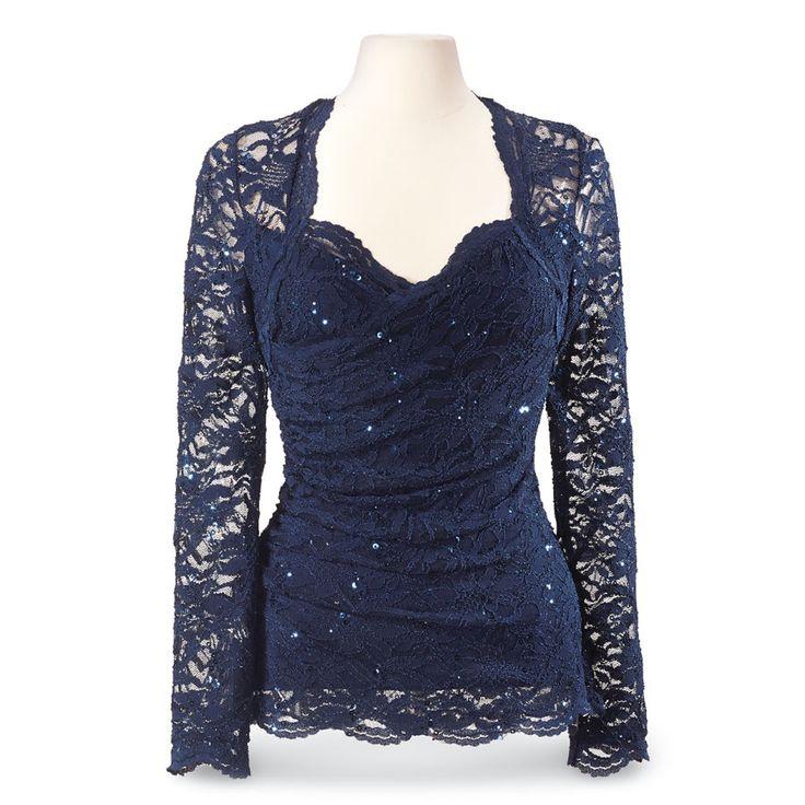 Sapphire Blue Top - Women's Clothing & Symbolic Jewelry – Sexy, Fantasy, Romantic Fashions