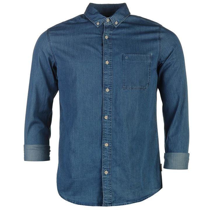 Calvin Klein | Calvin Klein Wilken Denim Shirt | Shirts