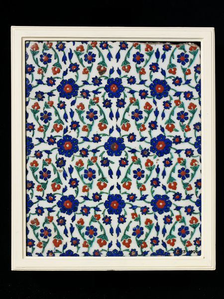 Tile Place of origin: Iznik, Turkey (made) Date: second half of 16th century (made)