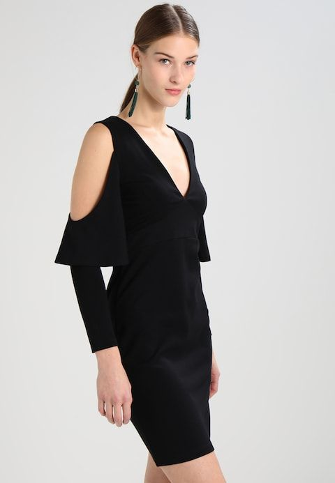 e962e0da30 French Connection BEAU - Sukienka koktajlowa - black - Zalando.pl