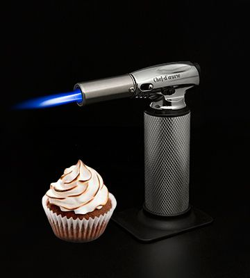 #KeenSmart #Kitchen #BlowTorch is a perfect choice for both amateur cooks and chefs. It allows creating real culinary masterpieces by changing not only flame's intensity but also its width.
