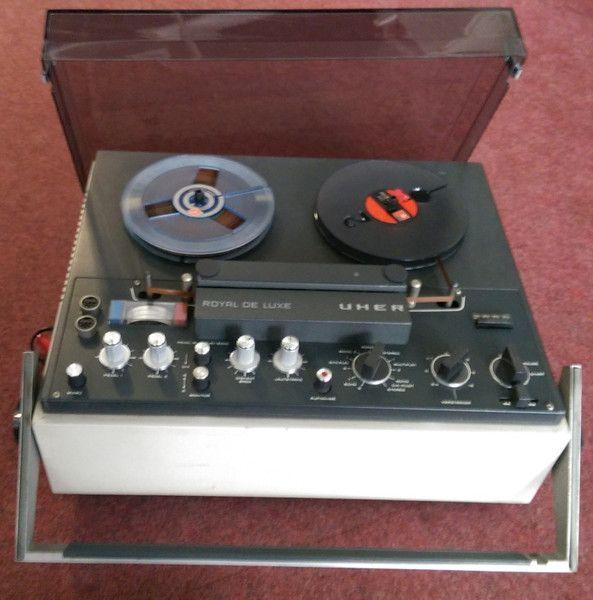 Weiteres - Tonbandgerät Uher Royal de Luxe 1970 - ein Designerstück von Fundhaus bei DaWanda