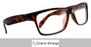 Square Peg Wayfarers Glasses - 263 Tortoise