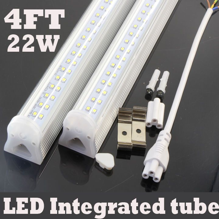 • No UV or IR radiation. • 6 pcs 4 FT Milky/Clear cover led integrated tube. • Energy-saving and high brightness. This item is for PCB board width is 16mm,better than other people sold is 9.5mm width.In this way keep good heat dissipation function.Greatly prolong the lifespan of the tube. | eBay!