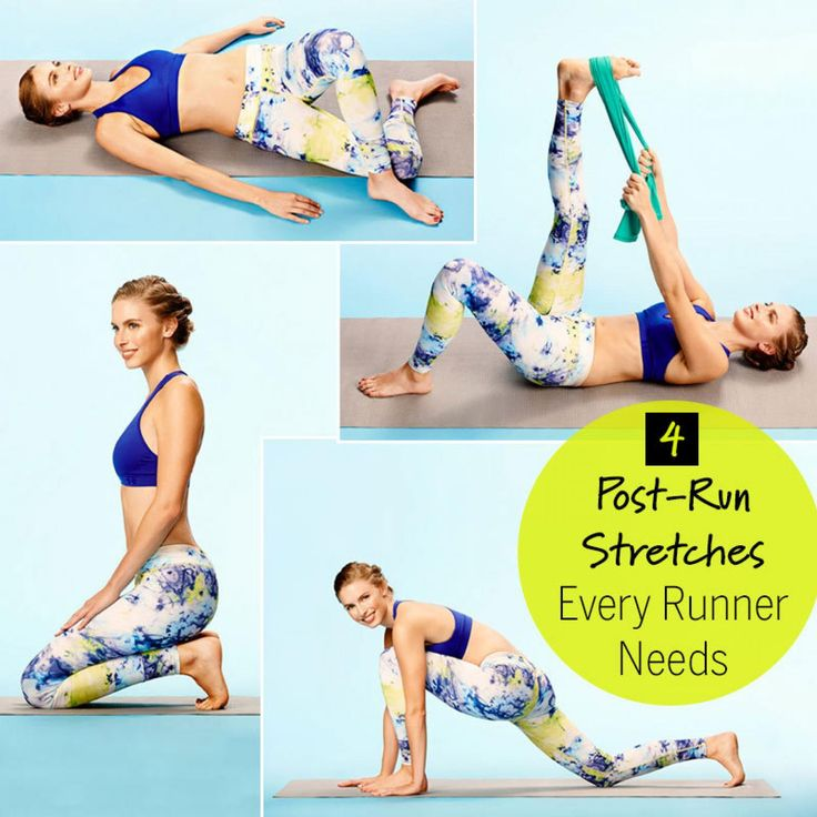 4 Post-Run Stretches Every Runner Needs