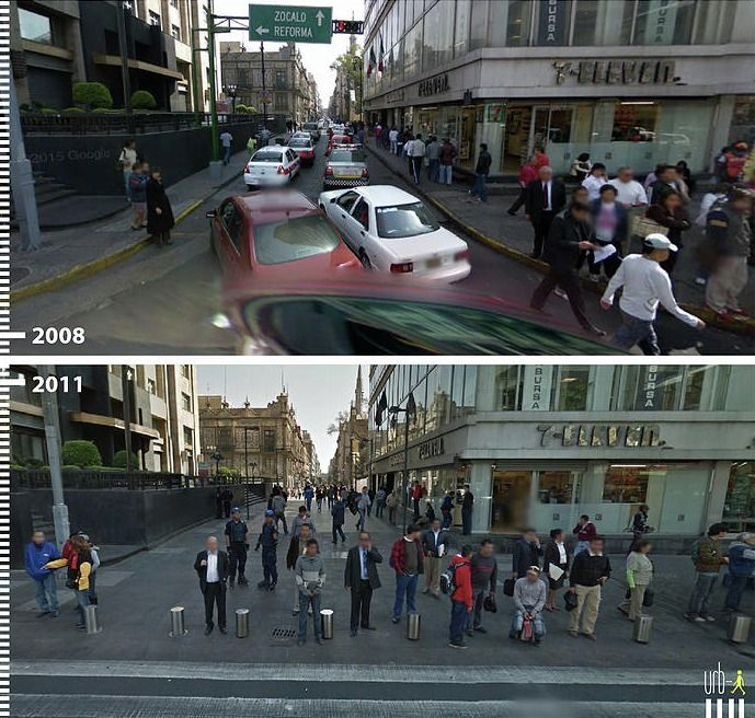 Gallery - Before & After: 30 Photos that Prove the Power of Designing with Pedestrians in Mind - 12