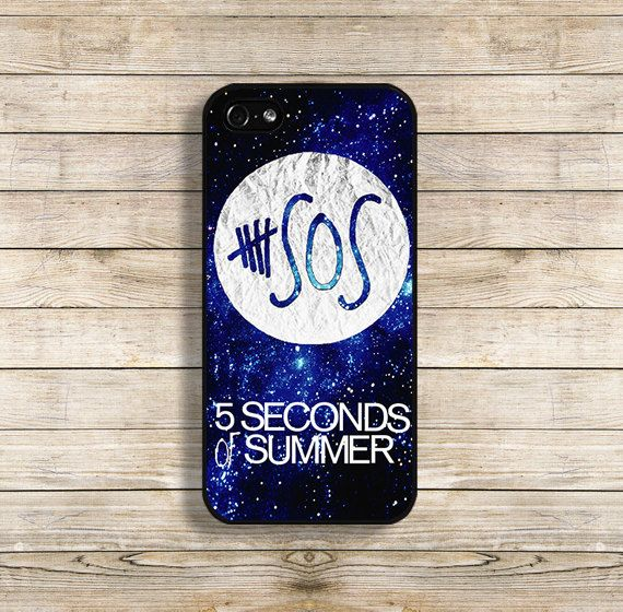 SOS phone case SOS iphone case 5 seconds of summer by BellaCase, $9.99