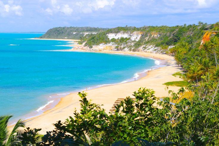 melhor praia de Porto Seguro Bahia Trancoso Arraial d'Ajuda dicas de viagem passeios praia do Espelho Caraiva