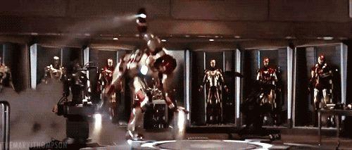 iron man mk 1 gif - Google Search