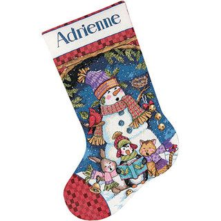 Shop for Cute Carolers Stocking Counted Cross Stitch Kit and more for everyday…