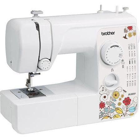 The Brother 17 Stitch Sewing Machine JX2517 is an easy-to-use sewing and mending machine that is well-suited for both the novice or more experienced home tailor. It includes a total of 17 built-in u...