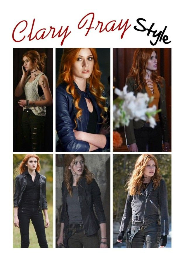 """""""Clary Fray Style"""" by demiwitch-of-mischief ❤ liked on Polyvore"""